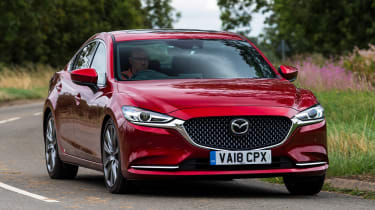 Mazda 6 - front action