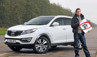 Kia Sportage: Fourth report