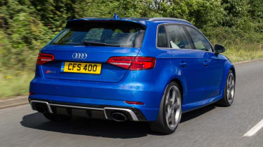Used Audi RS 3 - rear action