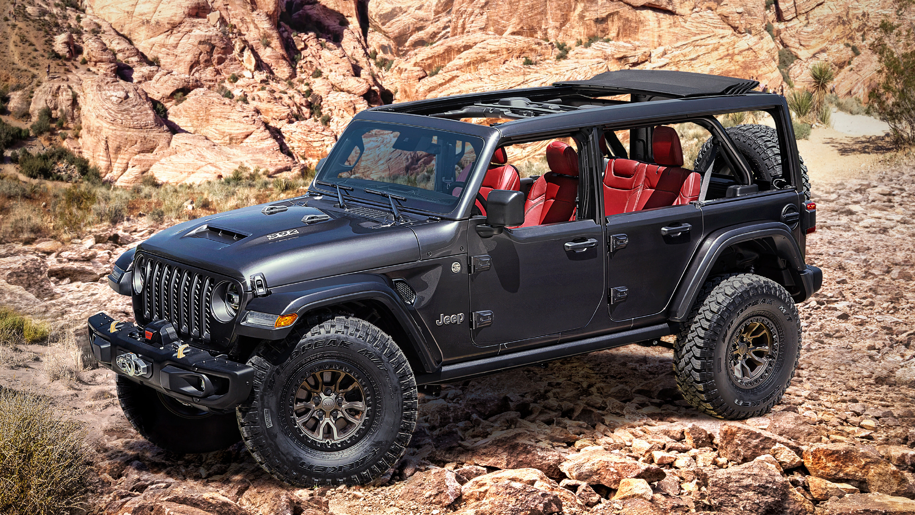 Jeep teases production-ready V8 Wrangler with Rubicon 392 concept | Auto Express
