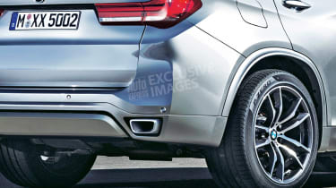 2018 BMW X5 - rear detail (exclusive image)