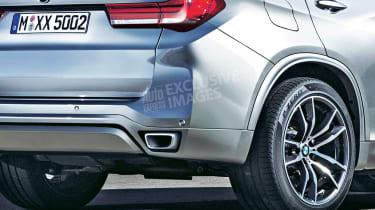 2018 BMW X5 - rear detail (exclusive image)