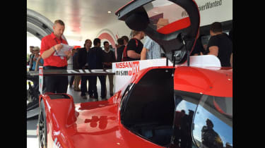Nissan GT-R LM at Goodwood 2015