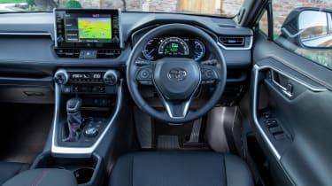 Toyota RAV4 plug-in hybrid - dash