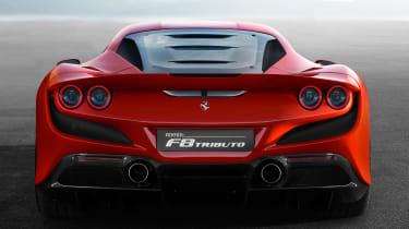 Ferrari F8 Tributo - full rear