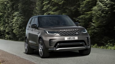 New Land Rover Discovery - front