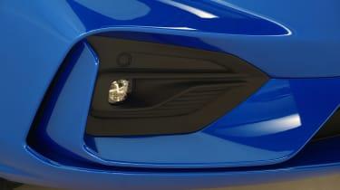 New Ford Focus studio - fog light