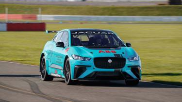 Jaguar I-Pace eTrophy - action