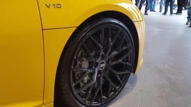 Audi R8 V10 Spyder - Goodwood wheel