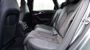 Audi RS6 - rear seats