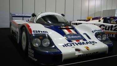 Porsche 956 at the London Classic Car Show
