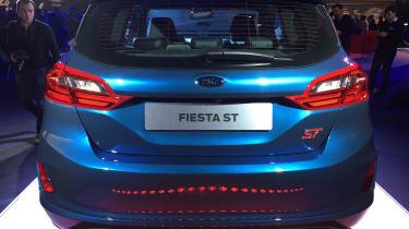 Ford Fiesta ST show - full rear