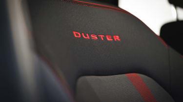 Dacia Duster Techroad - seat