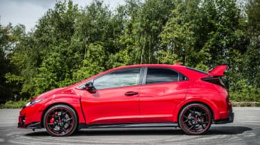 New Honda Civic Type R 2015 side