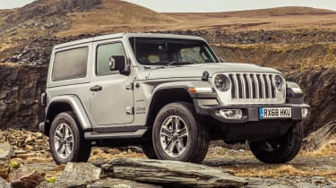 Jeep Wrangler  - front static