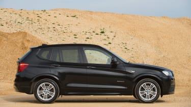 Used BMW X3 - side