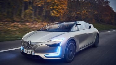 Renault Symbioz concept - front action