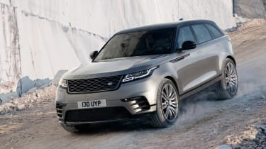 Range Rover Velar - off-road downhill