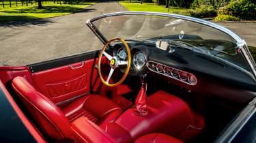 Ferrari 250 GT California Spyder remake - interior