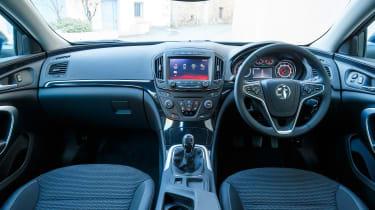 Vauxhall Insignia Sports Tourer Whisper diesel - interior