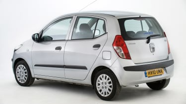 Used Hyundai i10 - rear