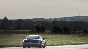 Alpine A110 Cup from a distance
