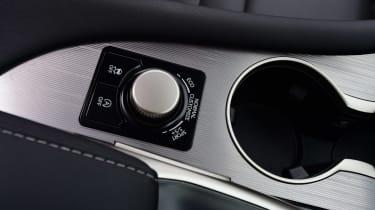 Lexus RX 200t - centre console