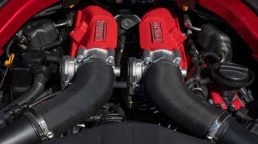Ferrari Portofino M - engine