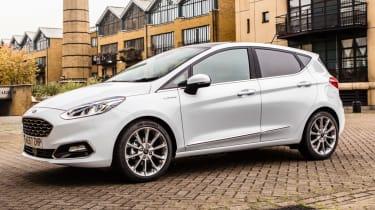 Ford Fiesta Vignale - static quarter front