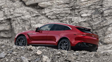 Aston Martin DBX - side off-road