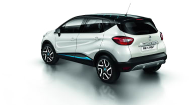 Renault Captur Iconic Nav rear side