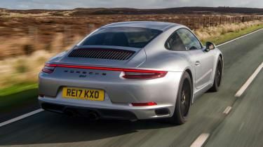 Porsche 911 GTS - rear