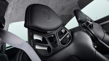 Porsche 911 GT3 - seat detail