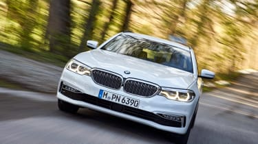 BMW 5 Series Touring - full front action