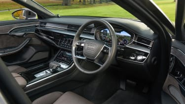 Audi A8 - interior