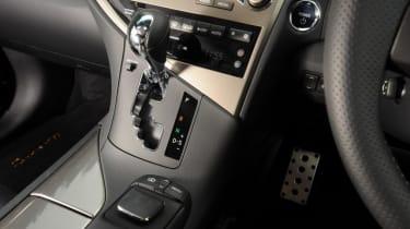 Used Lexus RX - centre console