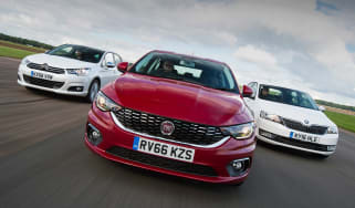 Fiat Tipo vs Skoda Rapid vs Citroen C4 - header