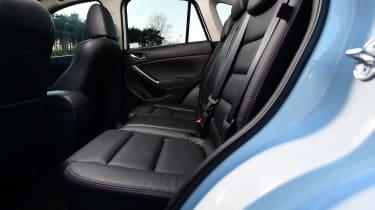 Mazda CX-5 - rear seats