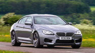 BMW M6 Gran Coupe - front action