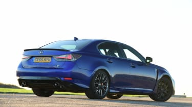 Lexus GS F - rear static