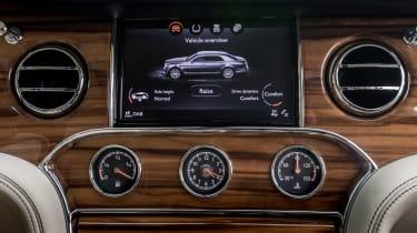 Bentley Mulsanne 2016 - infotainment