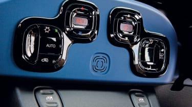 Fiat Panda centre console
