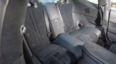 Lexus LC 500 - rear seats