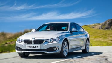 BMW 4 Series Gran Coupe 430d xDrive - front three quarter