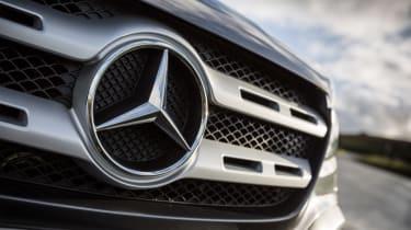 Mercedes X-Class review - mercedes badge