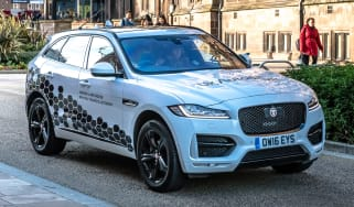 Jaguar Land Rover autonomous testing - static