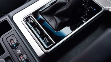 Toyota Land Cruiser - controls