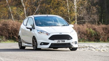 Ford Fiesta ST Mountune 230 - front cornering
