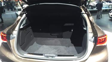 Infiniti QX30 SUV LA Show boot