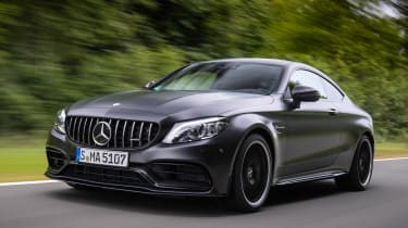 Mercedes-AMG C 63 S Coupe - front